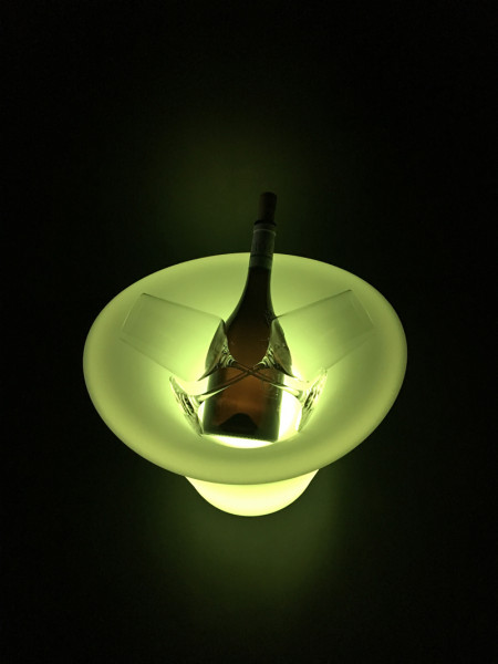 LED Sektkühler 2