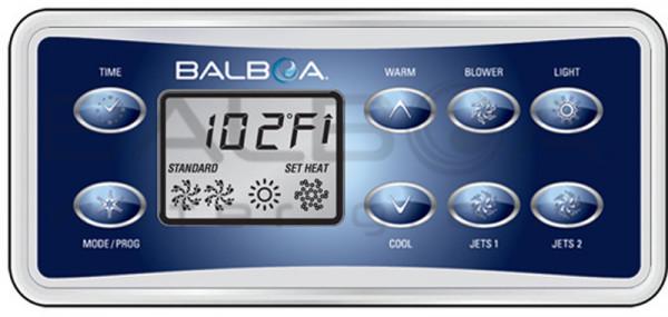 Balboa Bedienfeld VL801D Deluxe Digitales